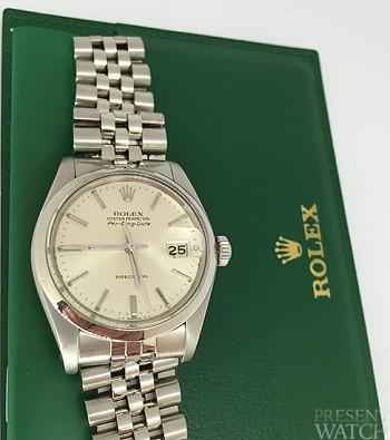 Oyster Perpetual Rolex Air King DATE 5700 Silver Dial