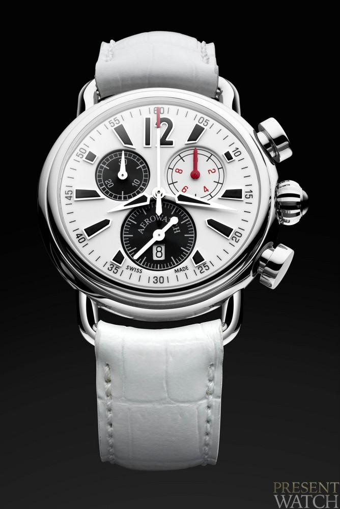The new Aerolady Sport Chrono Lady's watch