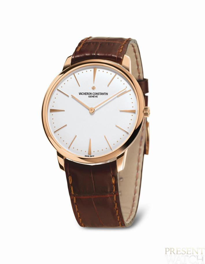 Patrimony Contemporaine Pink Gold 40mm