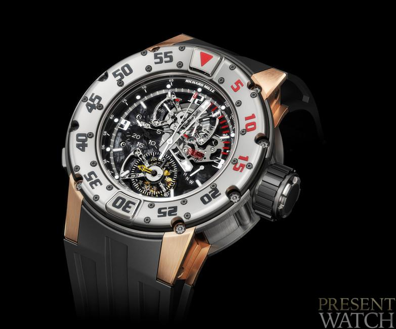 Richard Mille 025 Chronograph Diver's  003