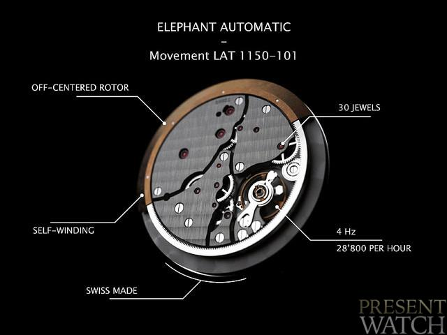 Cacheux Elephant Tourbillon