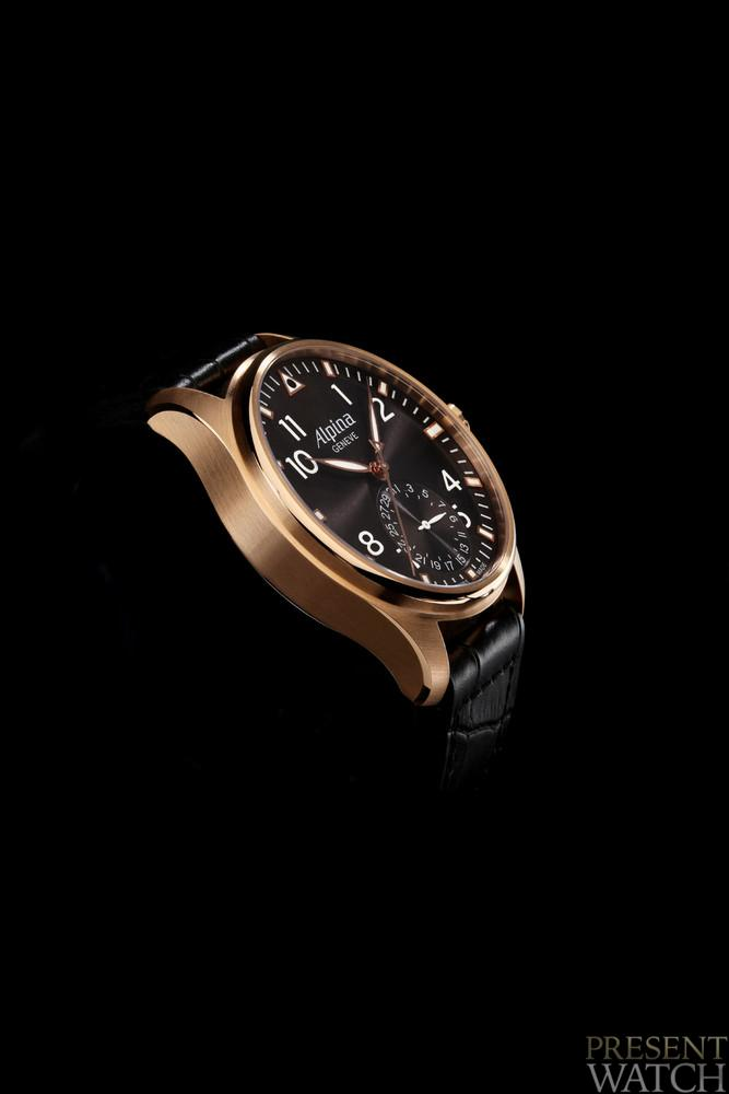Alpina aviation in 18K Rose Gold