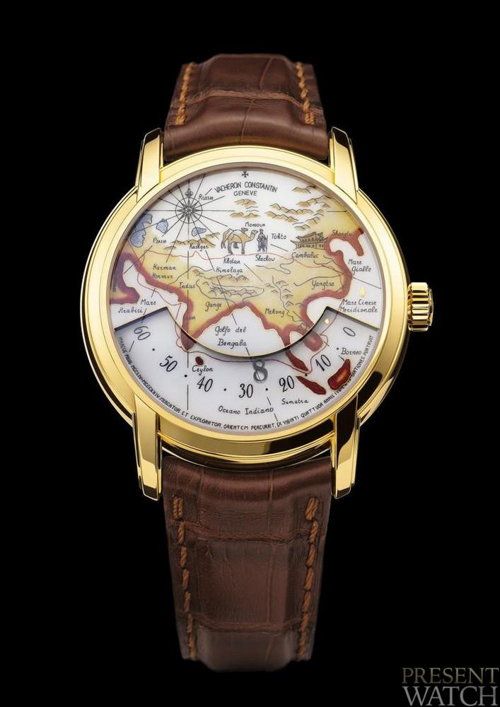 Luxury explorers vacheron constantin
