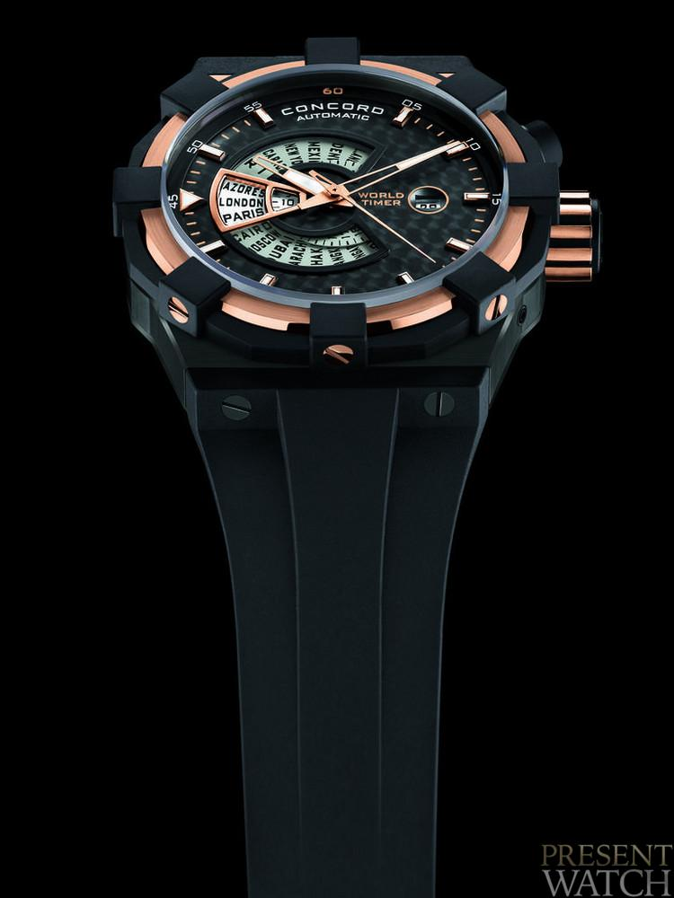 C1 WORLDTIMER ORANGE