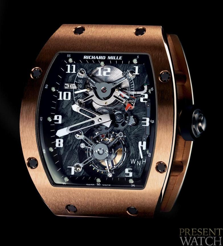 RICHARD MILLE 002 V2 GOLD