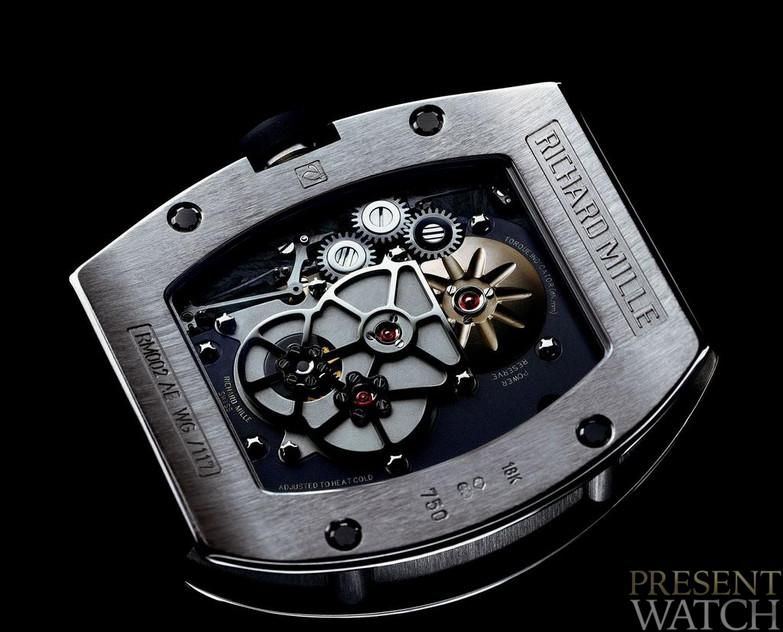 RICHARD MILLE 002 V2 BACK