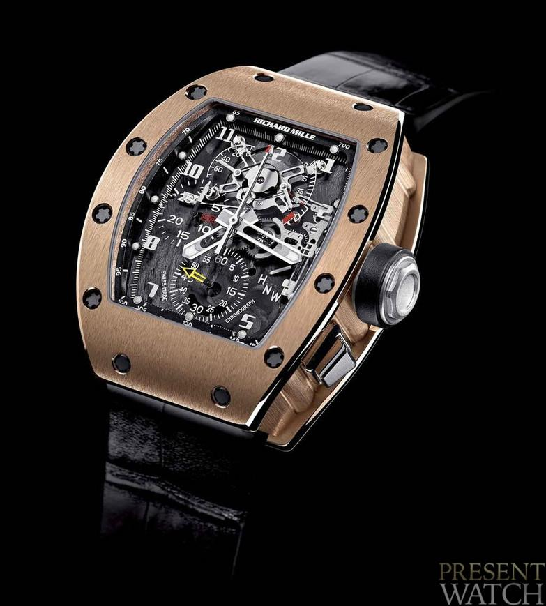 RICHARD MILLE 004 V2 RED GOLD