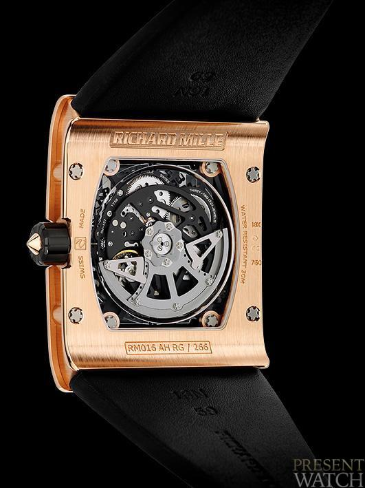 RICHARD MILLE RM 016 JEWELLERY BACK
