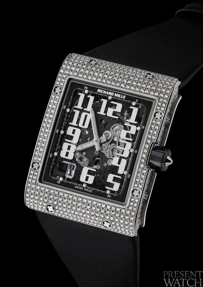 RICHARD MILLE RM 016 JEWELLERY DIAMS