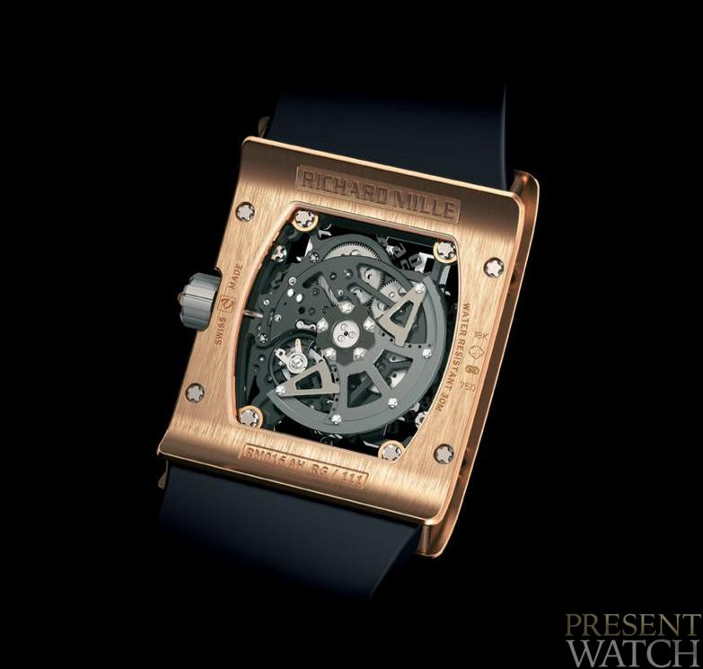 RICHARD MILLE RM 016 JEWELLERY BACK SIDE
