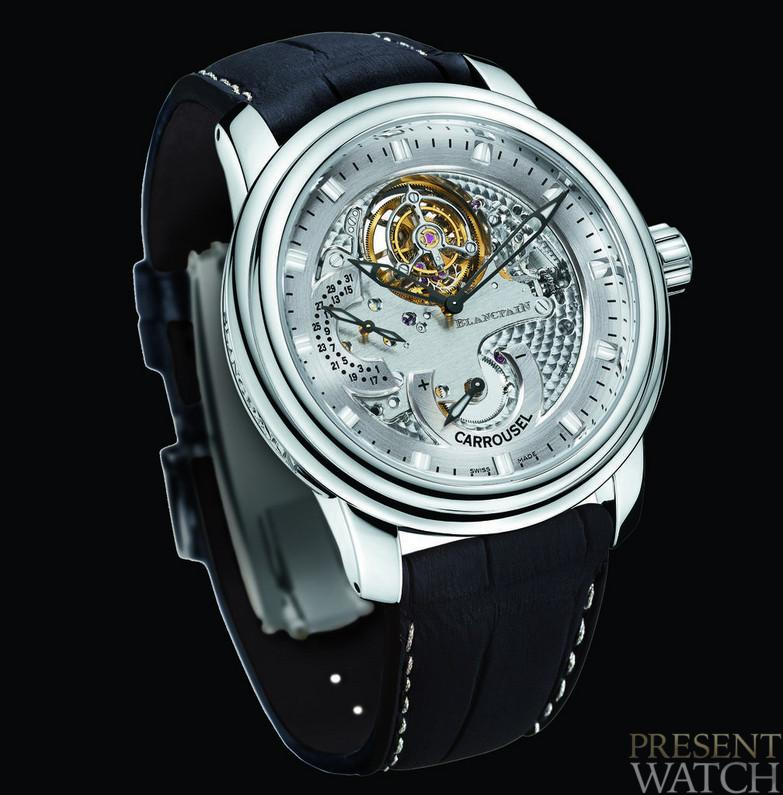 CARROUSEL VOLANT UNE MINUTE by BLANCPAIN