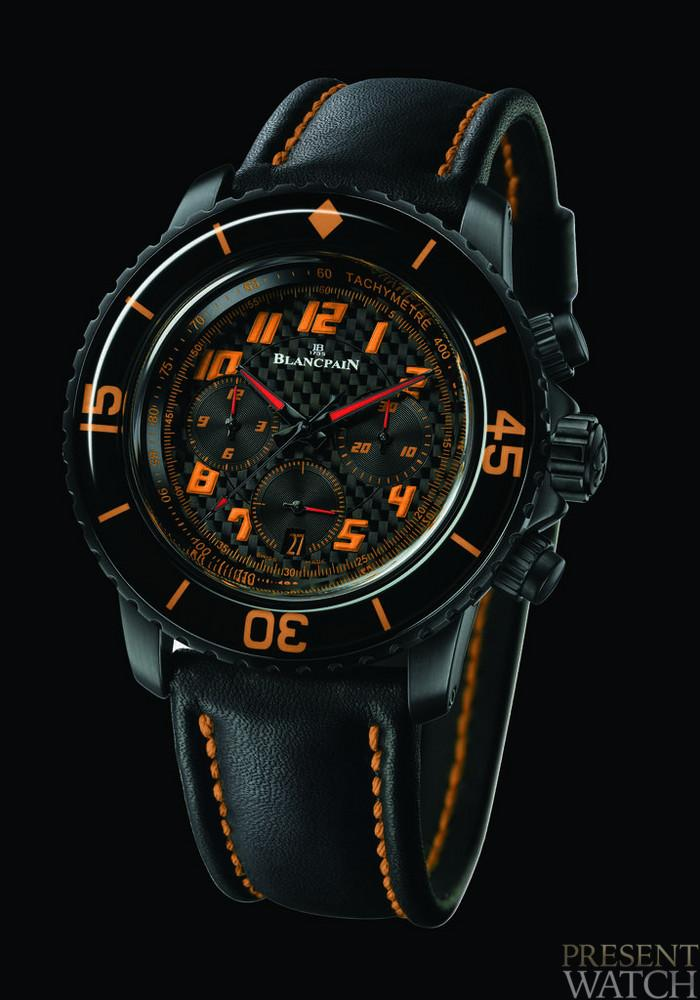 """Speed Command"" Chronograph BLANCPAIN"
