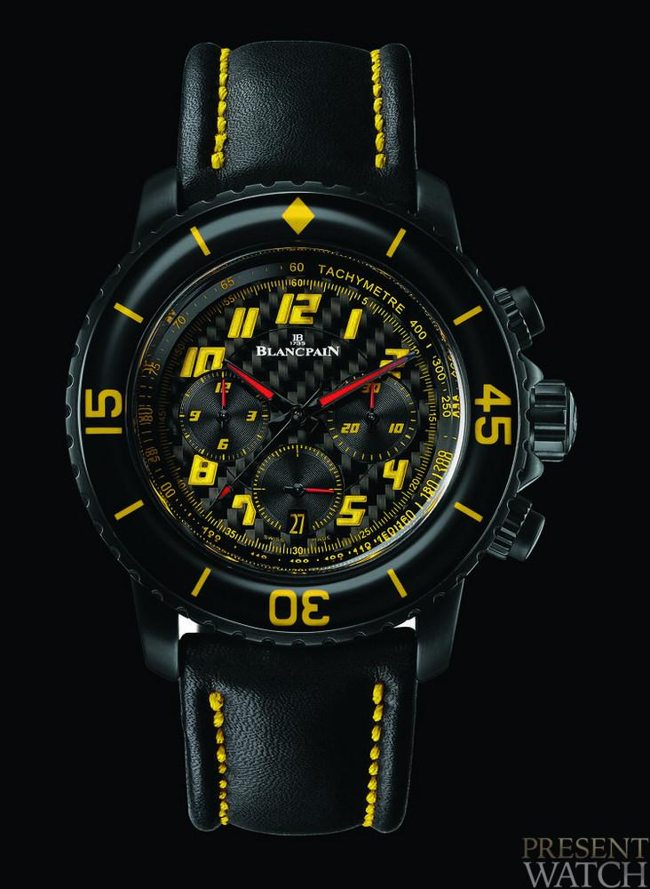 """Speed Command"" Chronograph front"