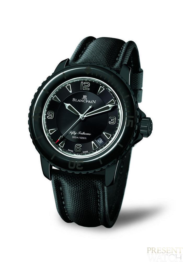 BLANCPAIN FIFTY BLACK&WHITE
