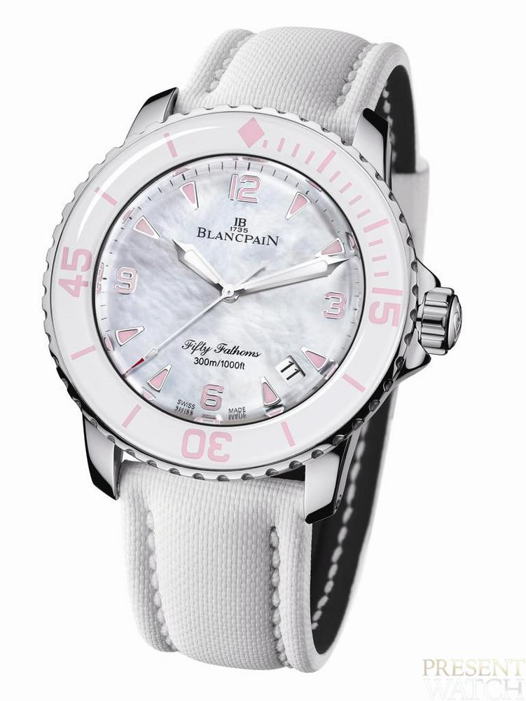 BLANCPAIN FIFTY WOMEN DIAMANDS