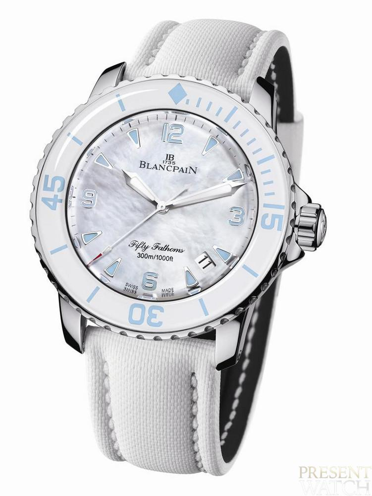 BLANCPAIN FIFTY WOMEN FRONT
