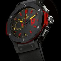HUBLOT AND OLD TRAFFORD