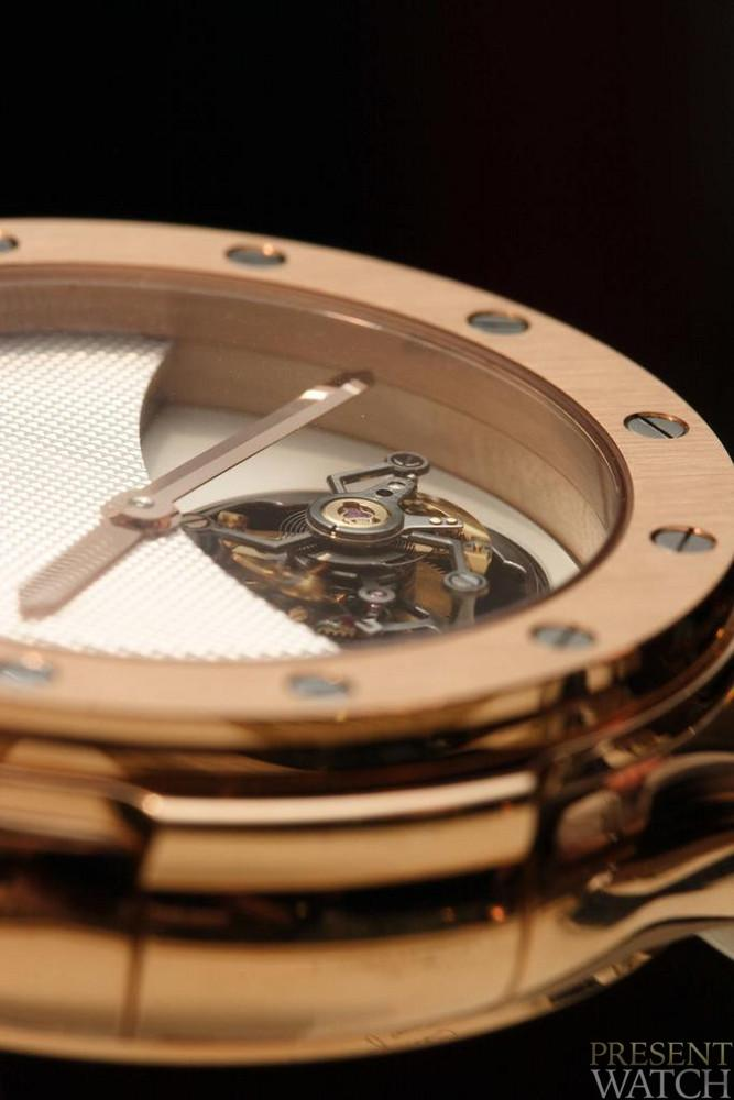 HUBLOT TOURBILLON CLASSIC CLOSE UP