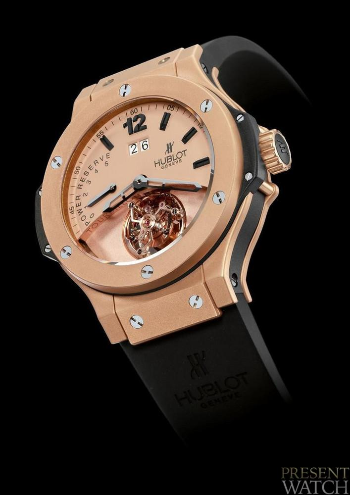TOURBILLON BIG DATE POWER RESERVE GOLD