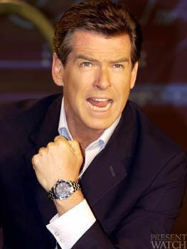 PIERCE BROSNAN AND THE SEAMASTER