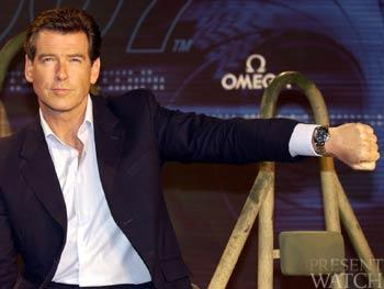 PIERCE BROSNAN OMEGA