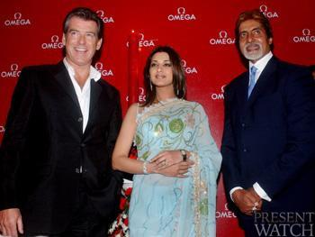 PIERCE BROSNAN AND THE SEAMASTER CELEBRATION