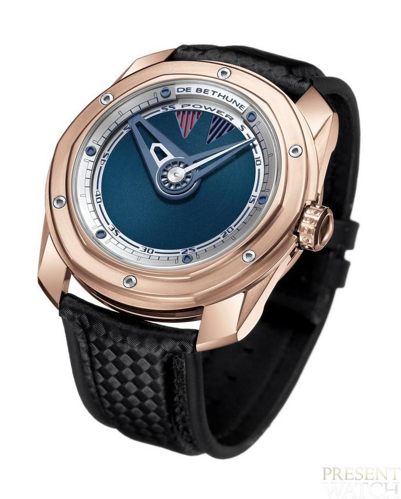 DB22 Gold by De Bethune