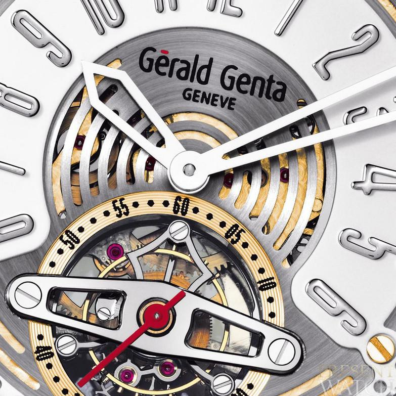 Arena Tourbillon Close Up