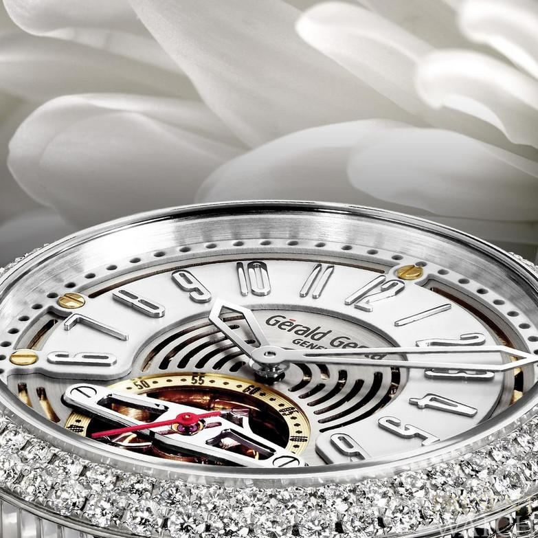 Arena Tourbillon White close up