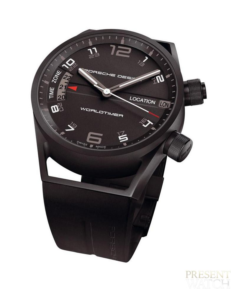 Porsche Design Worldtimer P6750 white
