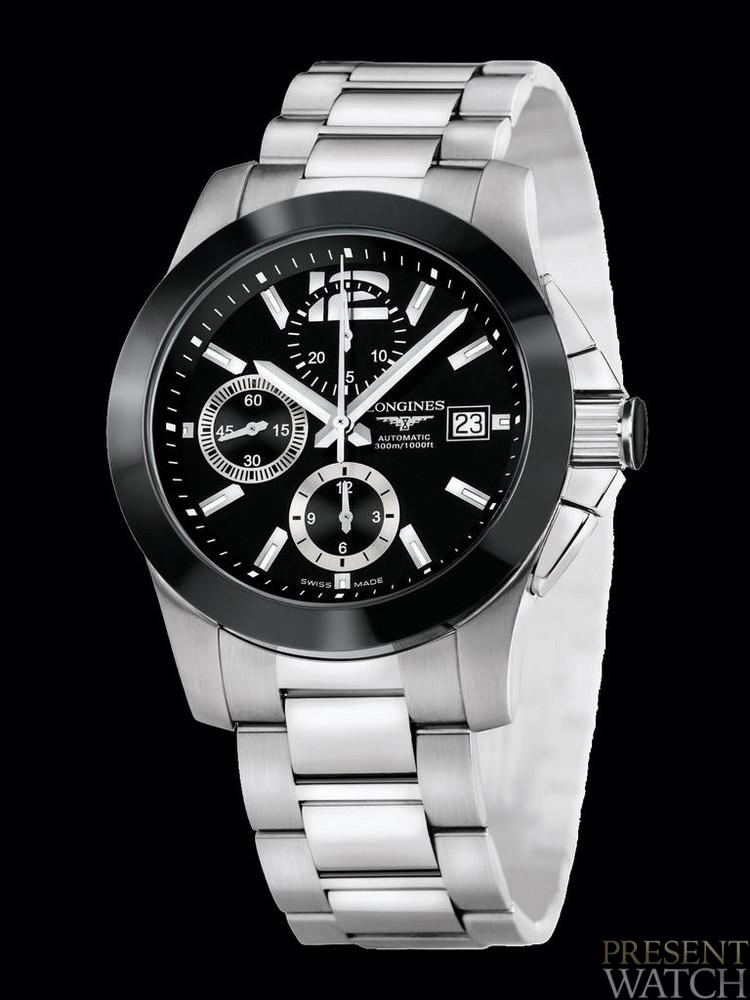 Conquest Ceramic Longines