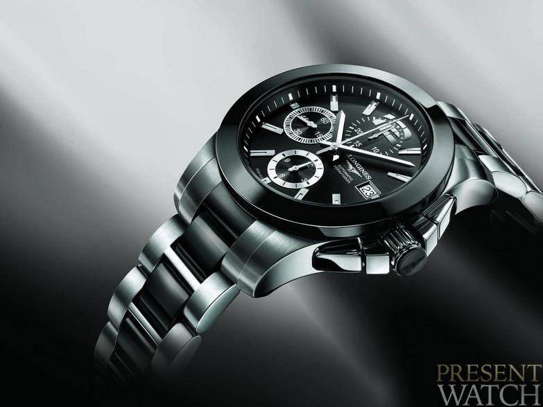 Conquest Ceramic by Longines