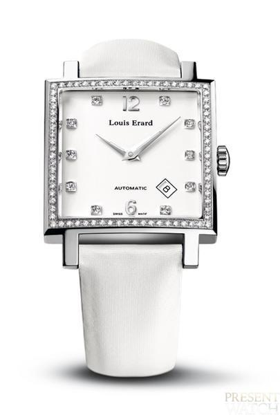 Carree Diamonds by Louis Erard (white)