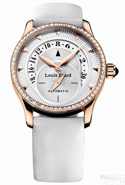 Emotion Pink Gold Collection by Louis Erard (white)