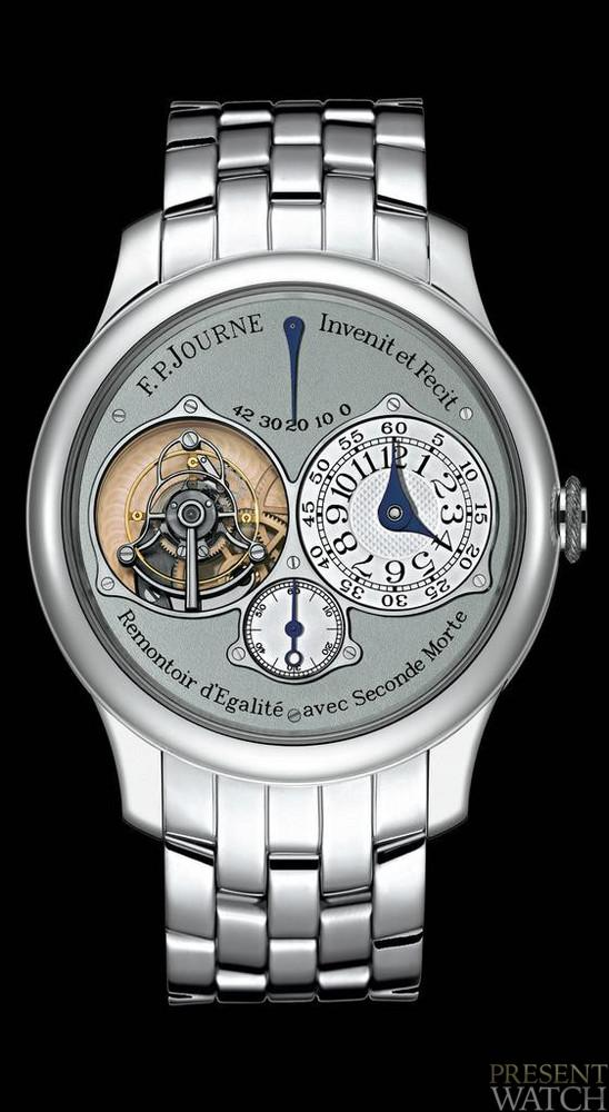 Tourbillon Souverain watches by FP Journe