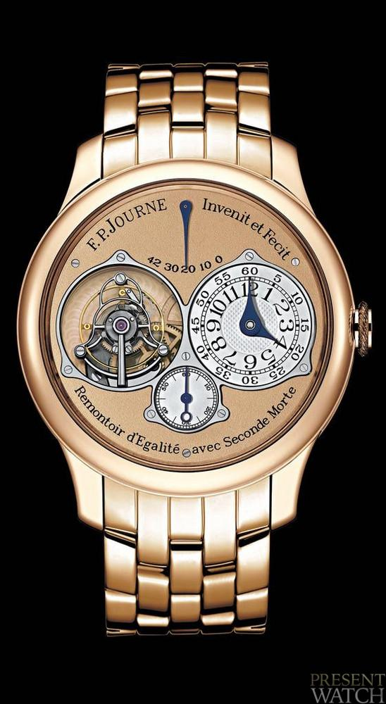 Tourbillon Souverain in Pink Gold