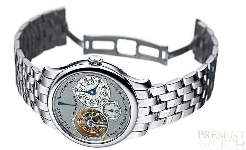 Tourbillon Souverain (silver side)