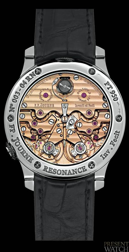 Chronograph resonance system FP Journe (2)
