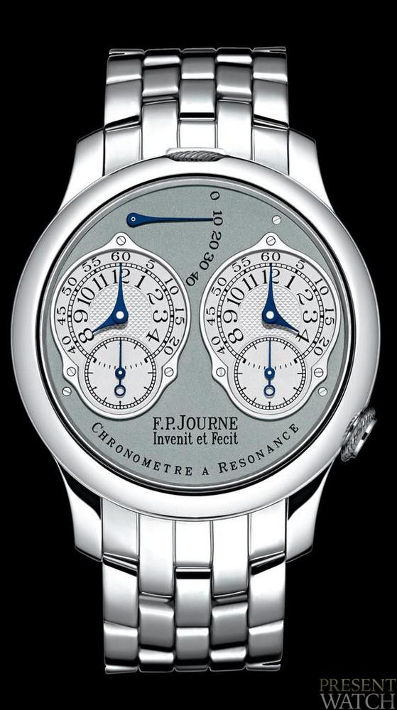 Chronograph resonance system FP Journe (silver)
