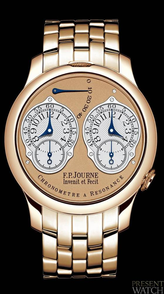 Chronograph resonance system FP Journe (Gold)