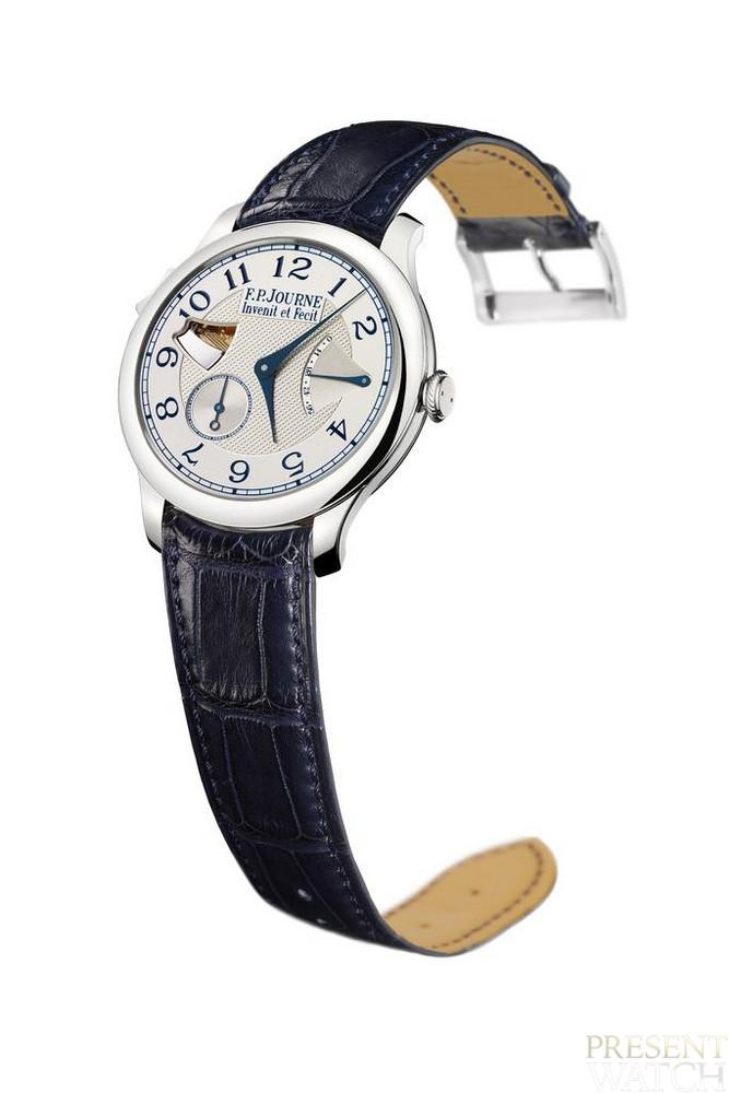 Repetition minute souveraine by FP Journe (white)