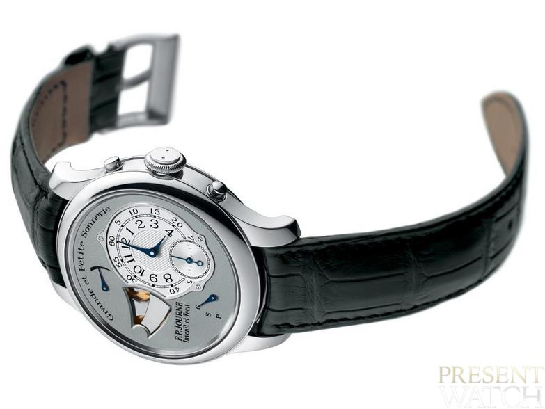 Souveraine Ring by FP Journe (white)