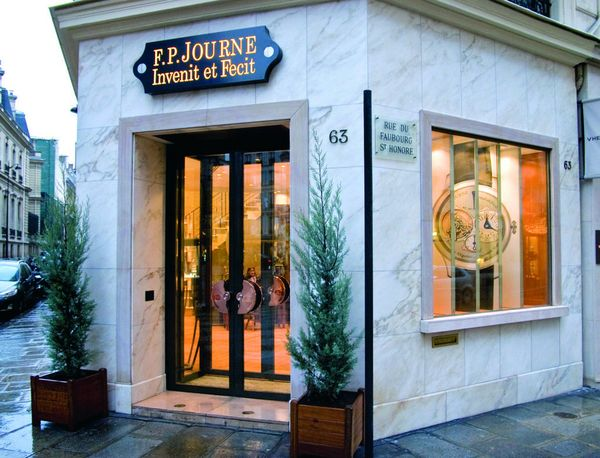 Boutique of JP Journe Paris