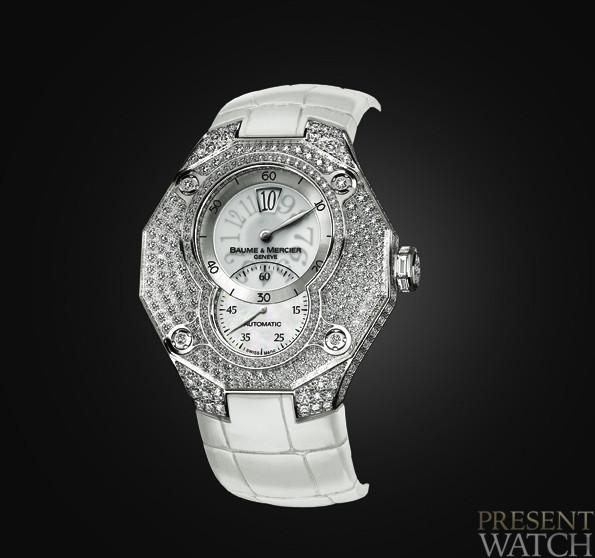 Baume & Mercier RIVIERA XXL HIGH JEWELRY JUMPING HOUR