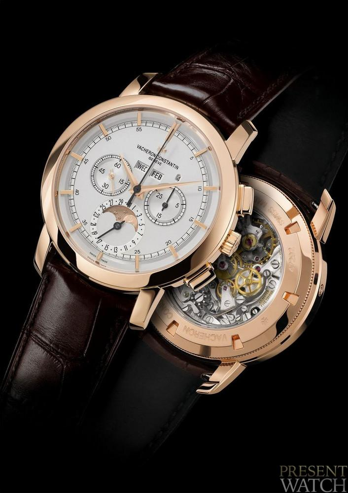 Vacheron Constantin Patrimony Traditionnelle Perpetual Calendar Chronograph and Chronograph