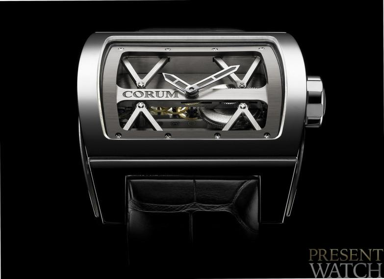 Corum Ti-Bridge side