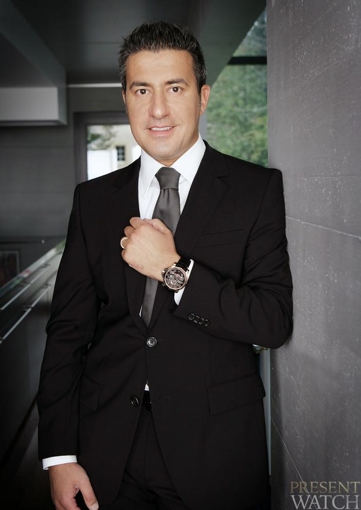 Antonio Calce CEO of Montres CORUM