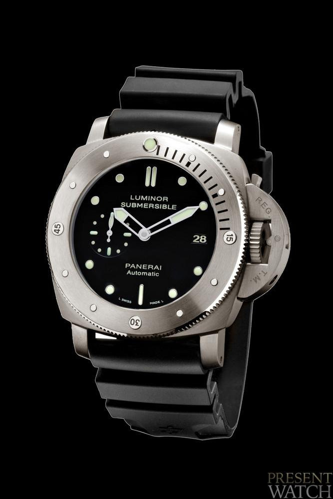 LUMINOR 1950 3 DAYS GMT POWER RESERVE submersible