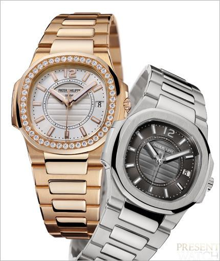 Patek Philippe introduces the casually elegant Nautilus for ladies 2