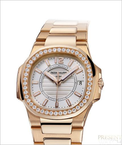 Patek Philippe introduces the casually elegant Nautilus for ladies 3